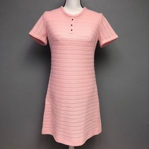 VTG 60s Richard Harwood Dallas Poly Knit Textured